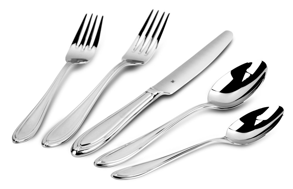wmf 20 piece florence stainless steel flatware set. Black Bedroom Furniture Sets. Home Design Ideas