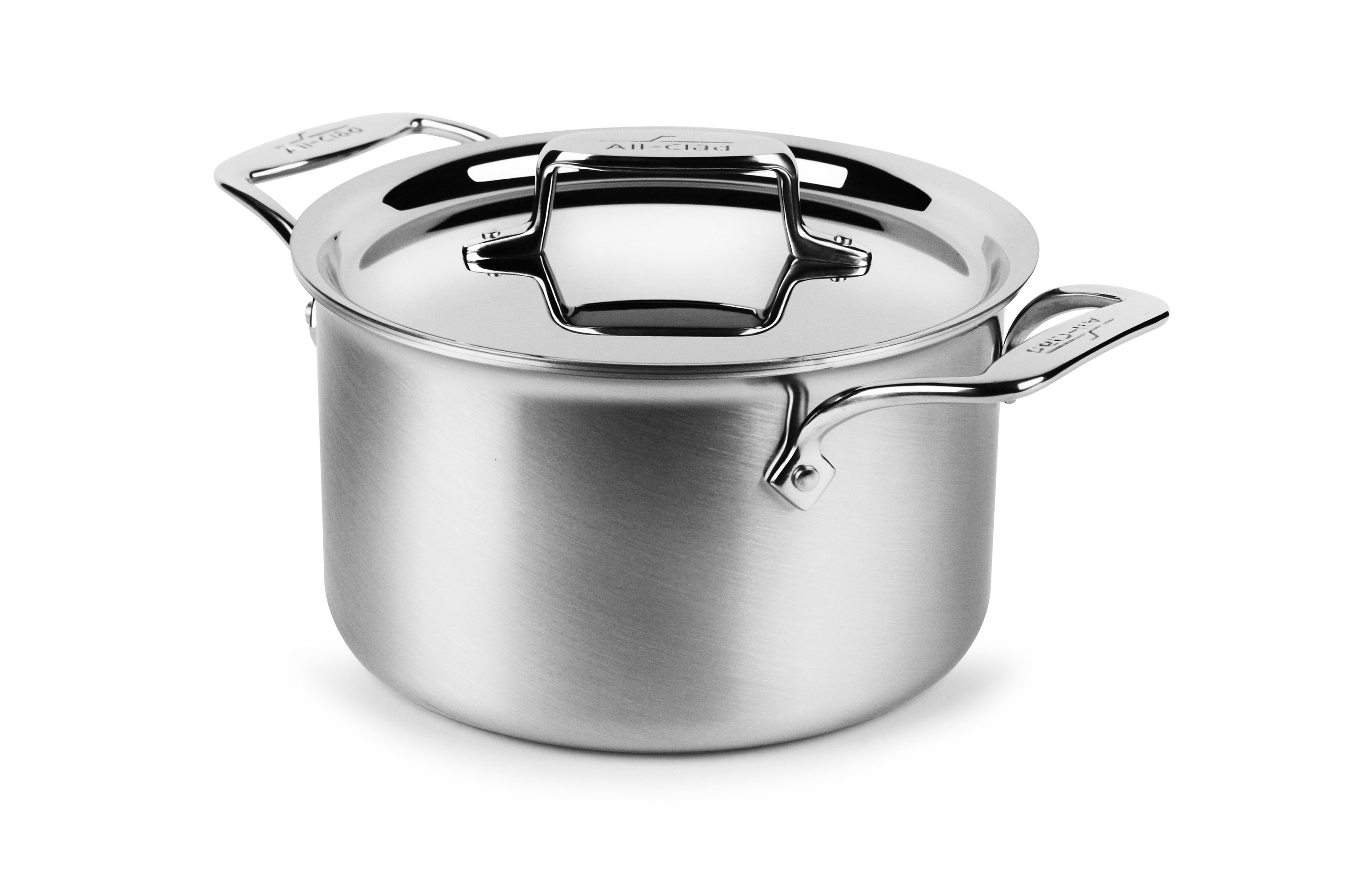 All Clad D5 Brushed Stainless Soup Pot 4 Quart Cutlery