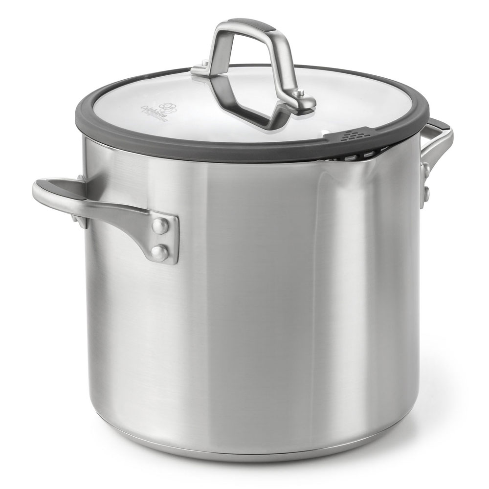 Calphalon Easy System Stainless Stock Pot 8 Quart