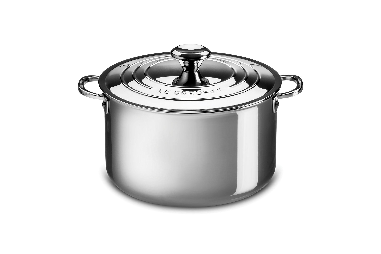 Le Creuset Stainless Steel Casserole 4 Quart Cutlery