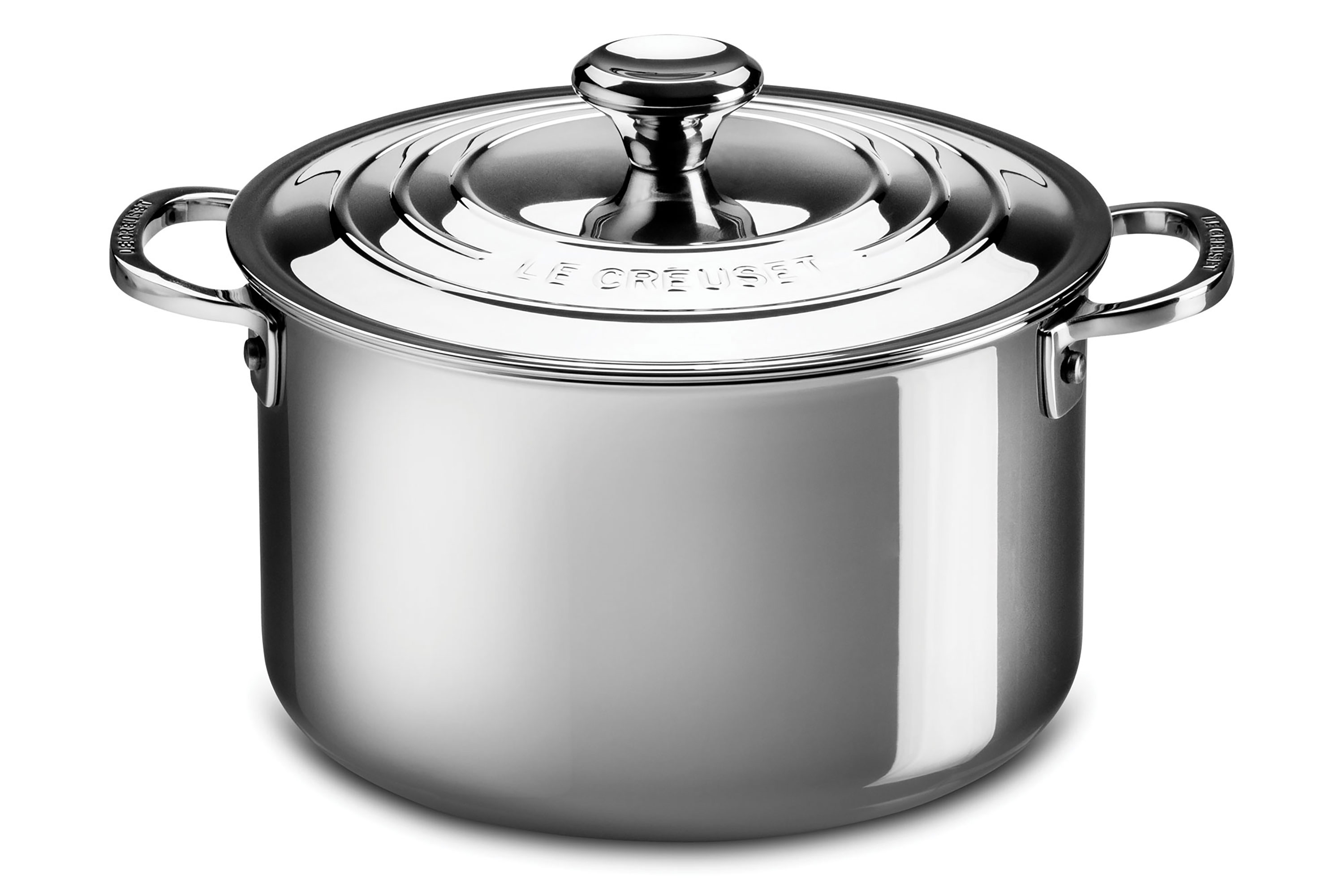 Le Creuset Stainless Steel Stockpot 11 Quart Cutlery