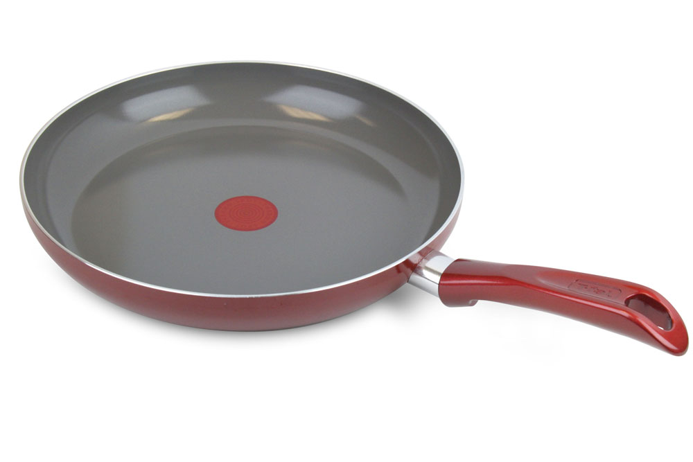 T Fal Forte Ceramiccontrol Nonstick Enameled Fry Pan 12