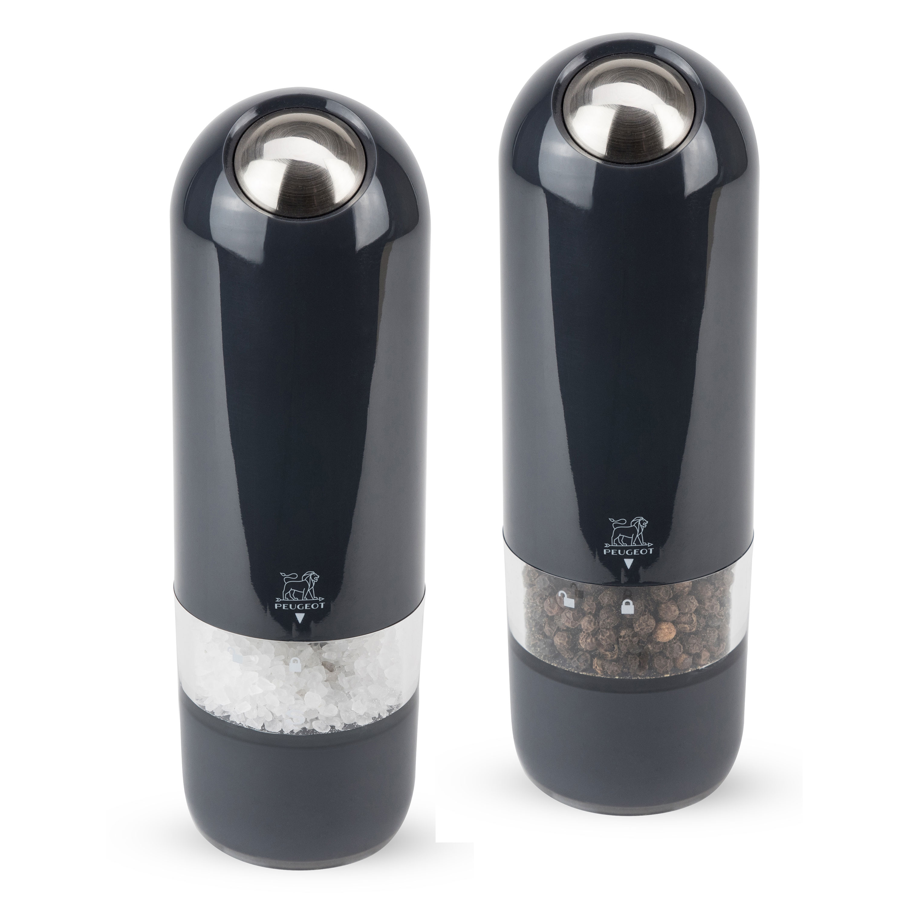 Peugeot Alaska Electric Salt Amp Pepper Mill Set 7 Quot Quartz