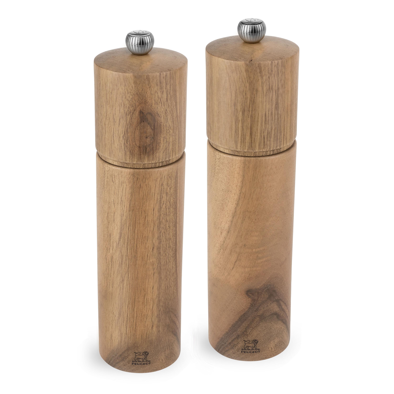 Peugeot Chatel Walnut Wood Salt Amp Pepper Mill Set 8