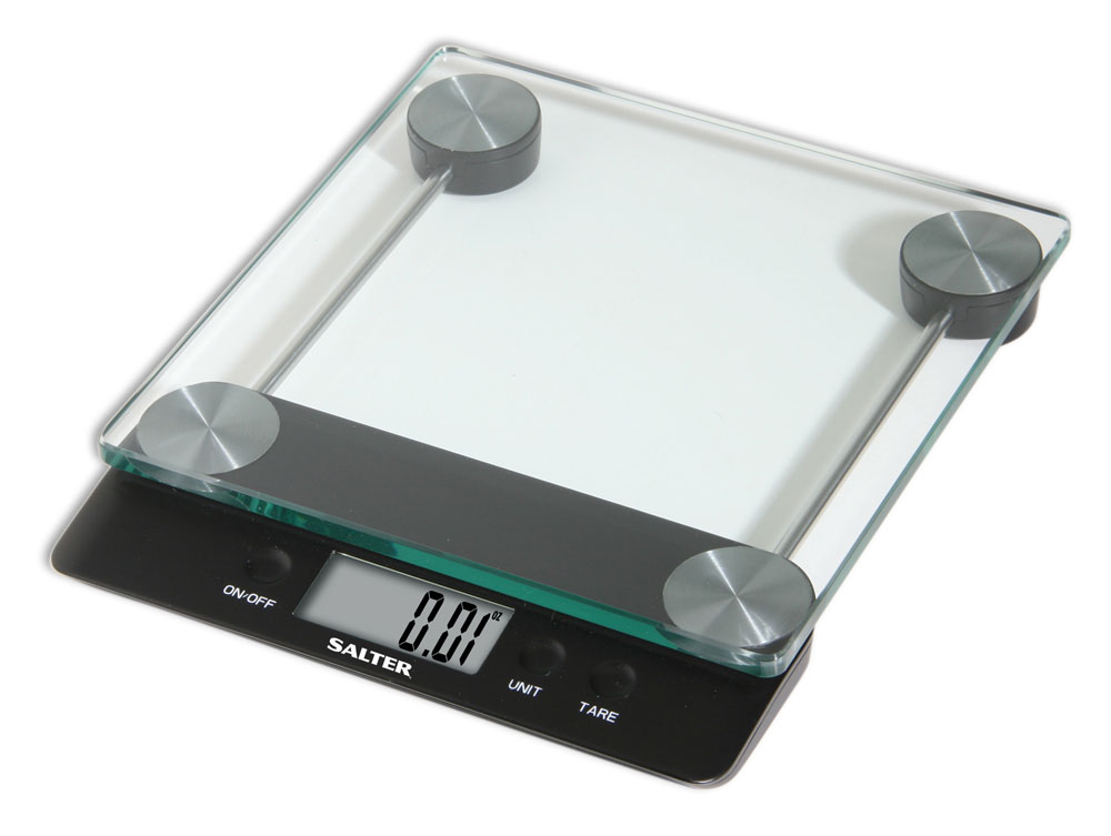 Salter High Capacity Digital Kitchen Scale With Glass