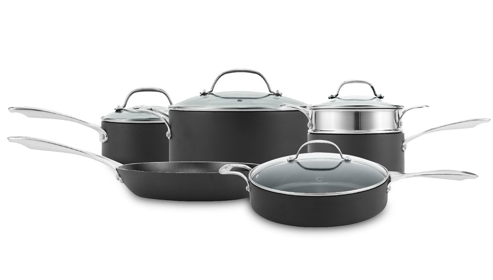 Curtis Stone Hard Stuff Hard Anodized Nonstick Cookware