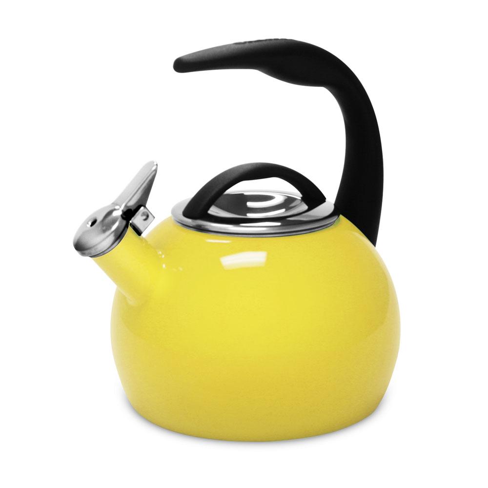 Chantal Enamel On Steel Anniversary Tea Kettle 2 Quart