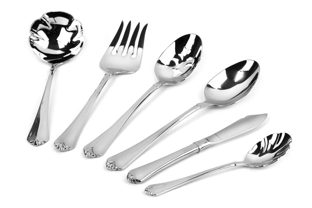 Oneida Julliard Stainless Steel Serving Set 6 Piece