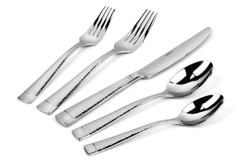 Realized very late that I didn't have enough place settings for a large party, so I bought a couple of sets of this flatware. I liked the idea of just getting the fork-knife-spoon combination instead of spending extra money on the salad fork and large spoon (which we rarely seem to use).