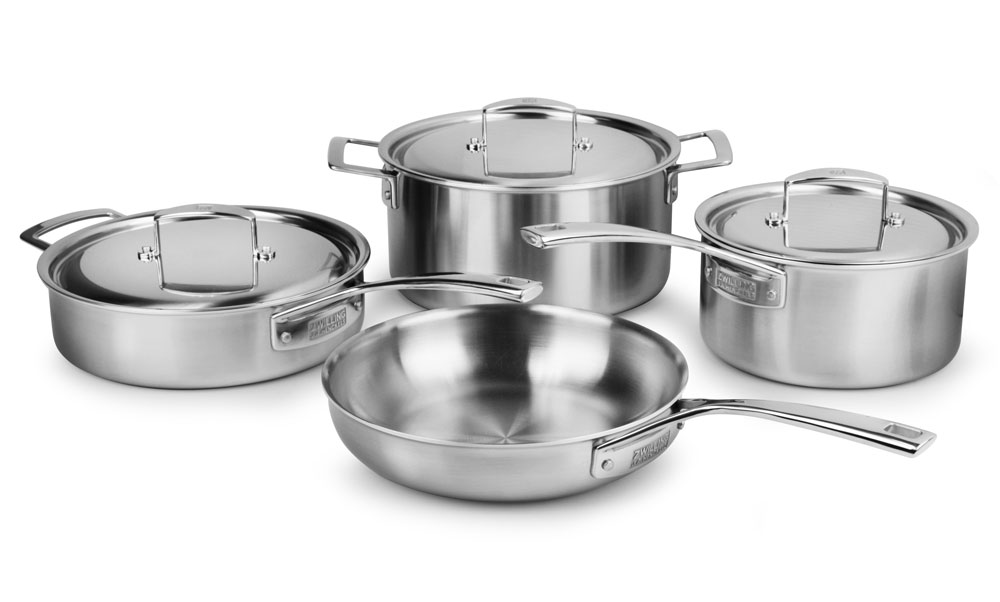 Zwilling J A Henckels Aurora Stainless Steel Cookware Set