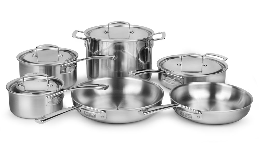 Zwilling J A Henckels Aurora Stainless Steel Cookware Set