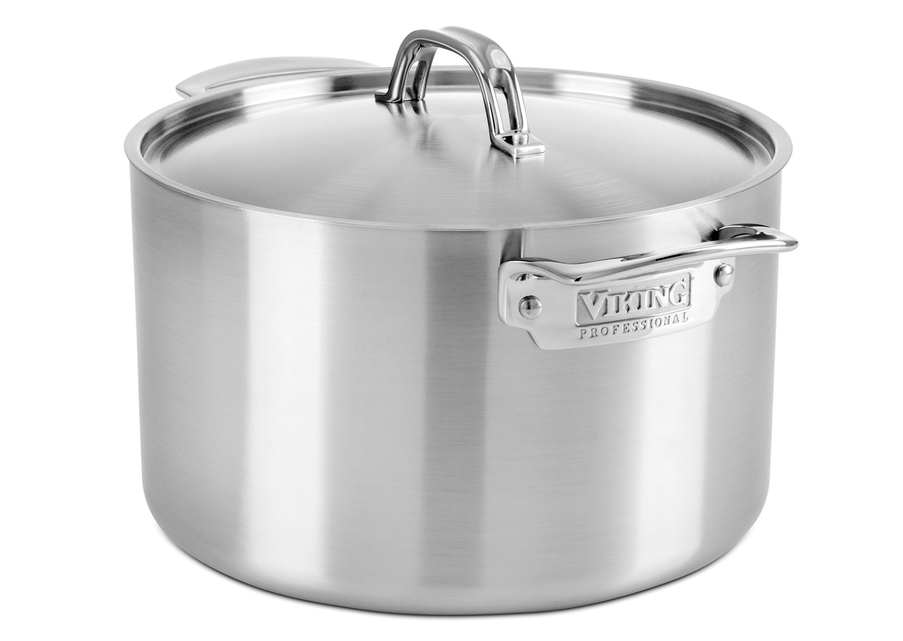 Viking Professional 5 Ply Stainless Steel Stock Pot 8