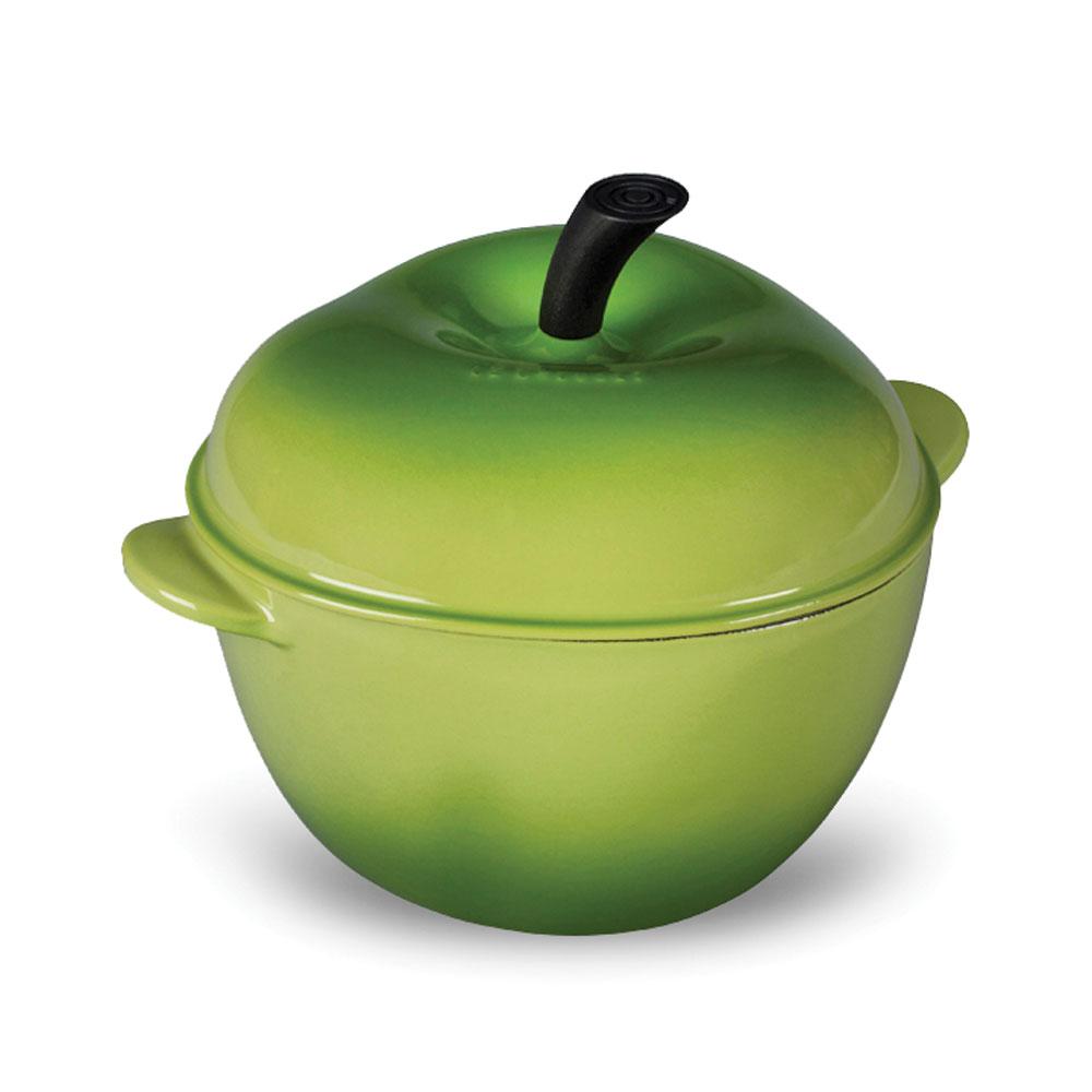 Le Creuset Cast Iron Apple Casserole 2 25 Quart Palm