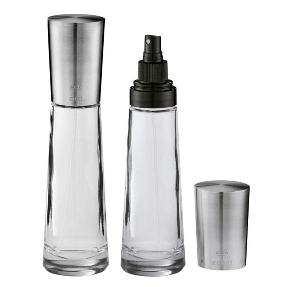 Rosle Glass Oil Amp Vinegar Spray Dispenser Set Cutlery