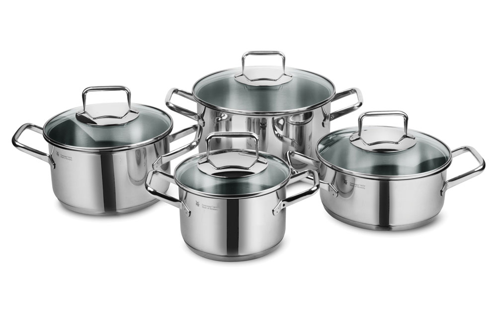 Wmf Trend Stainless Steel Cookware Set 8 Piece Cutlery
