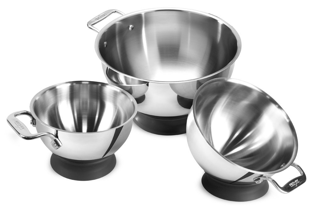 All Clad Spherical Mixing Bowl Set 3 Piece Cutlery And More