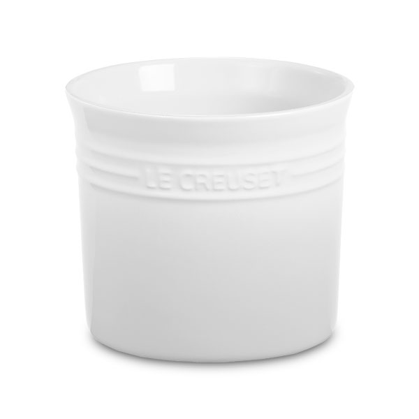 Le Creuset Stoneware Utensil Crock 2 75 Quart White