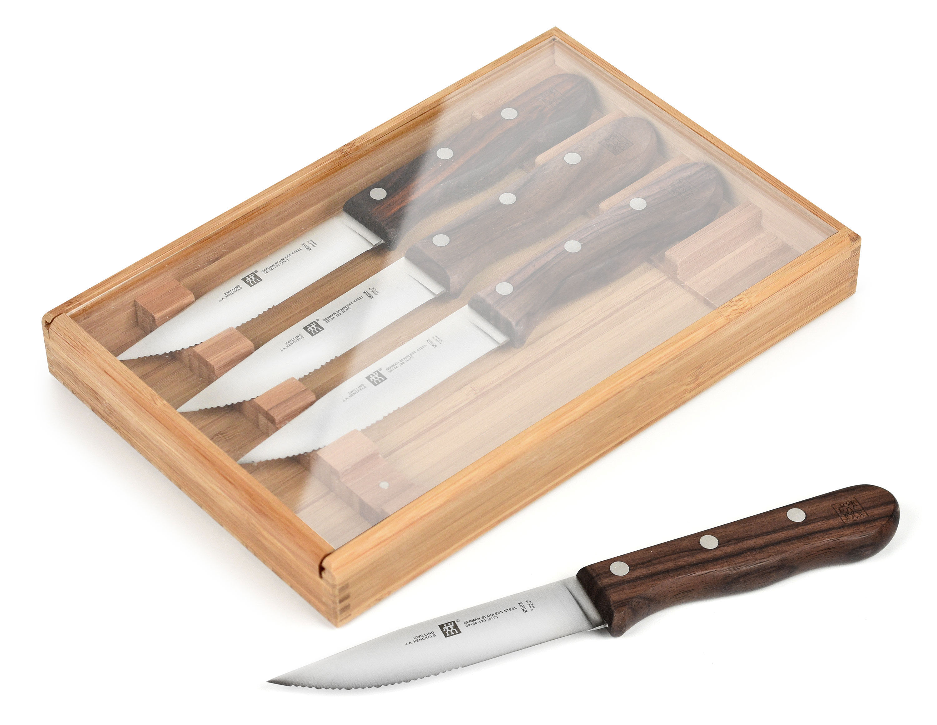 Zwilling J A Henckels Steakhouse Steak Knife Set With