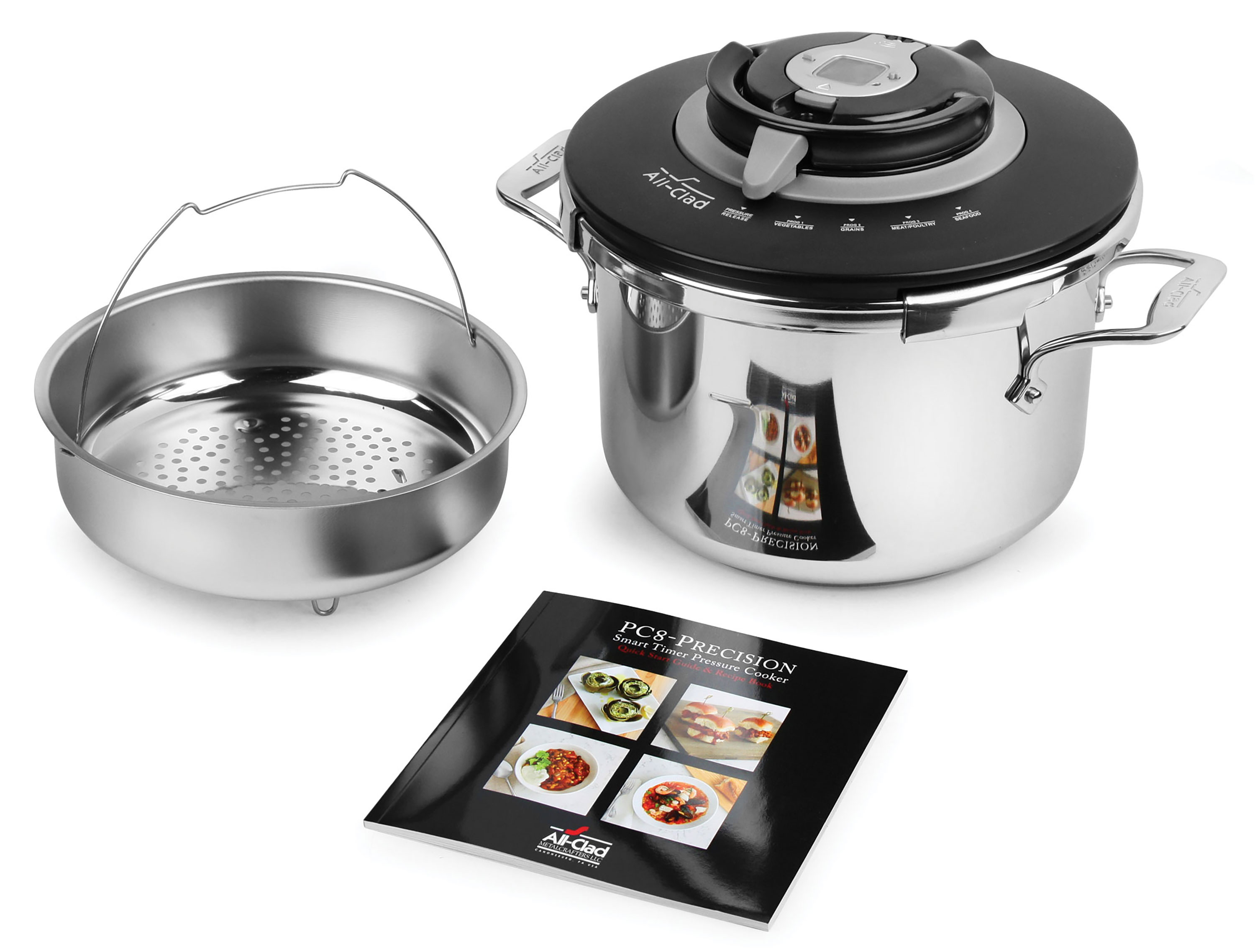 All Clad Pressure Cooker On Sale Model Pc8 Precision