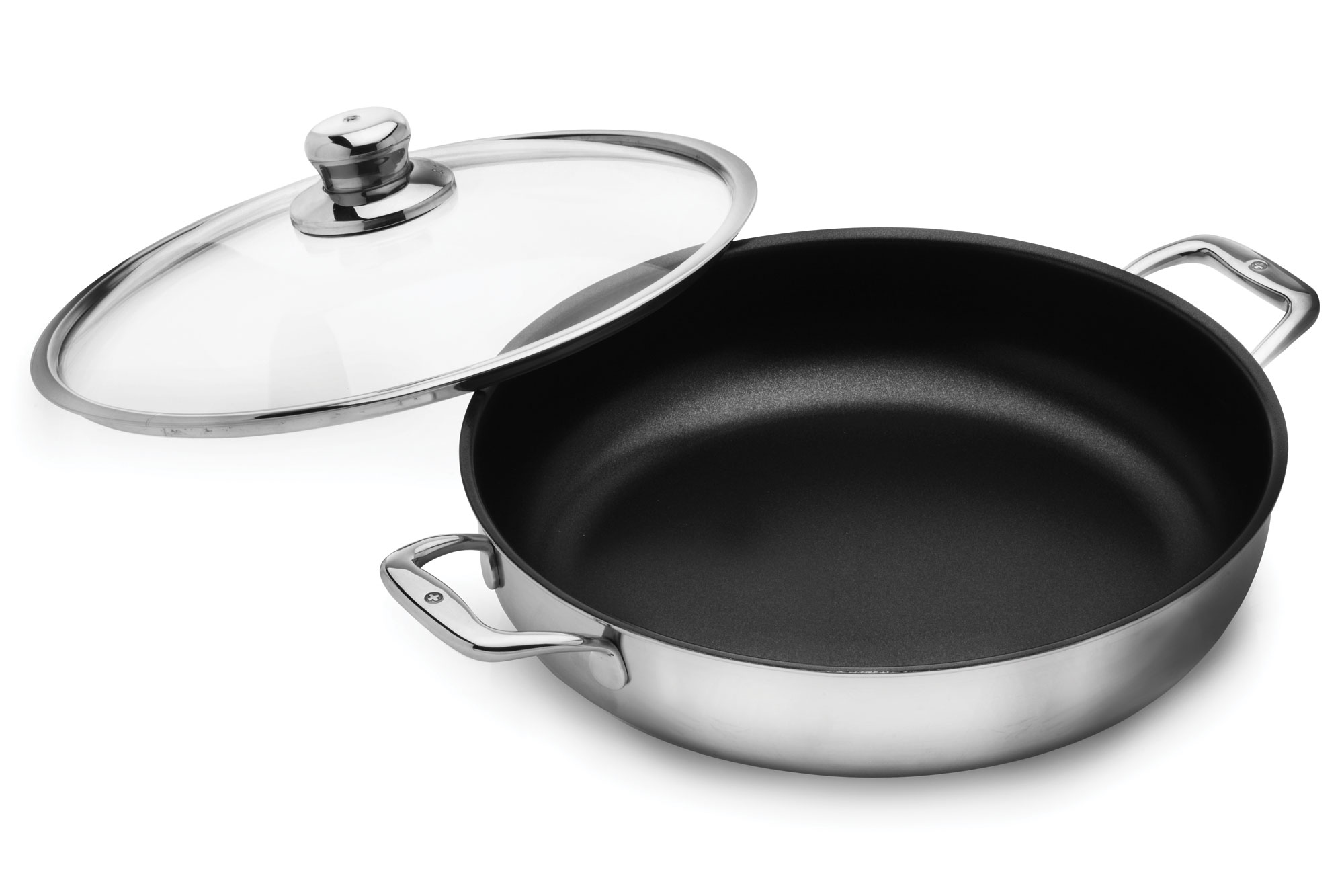 Swiss Diamond Prestige Clad Stainless Steel Nonstick Chef