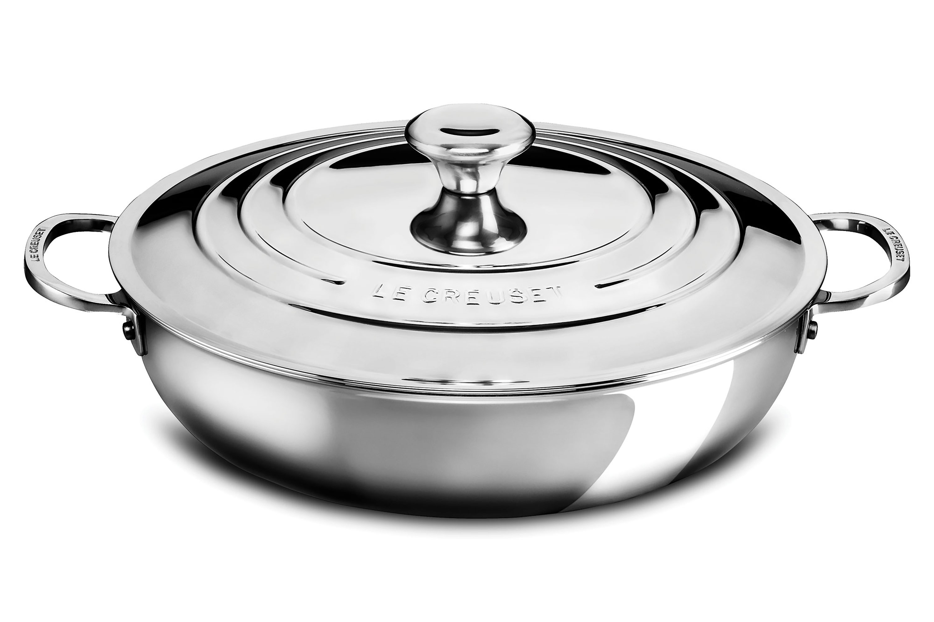 Le Creuset Stainless Steel Braiser 5 Quart Cutlery And More