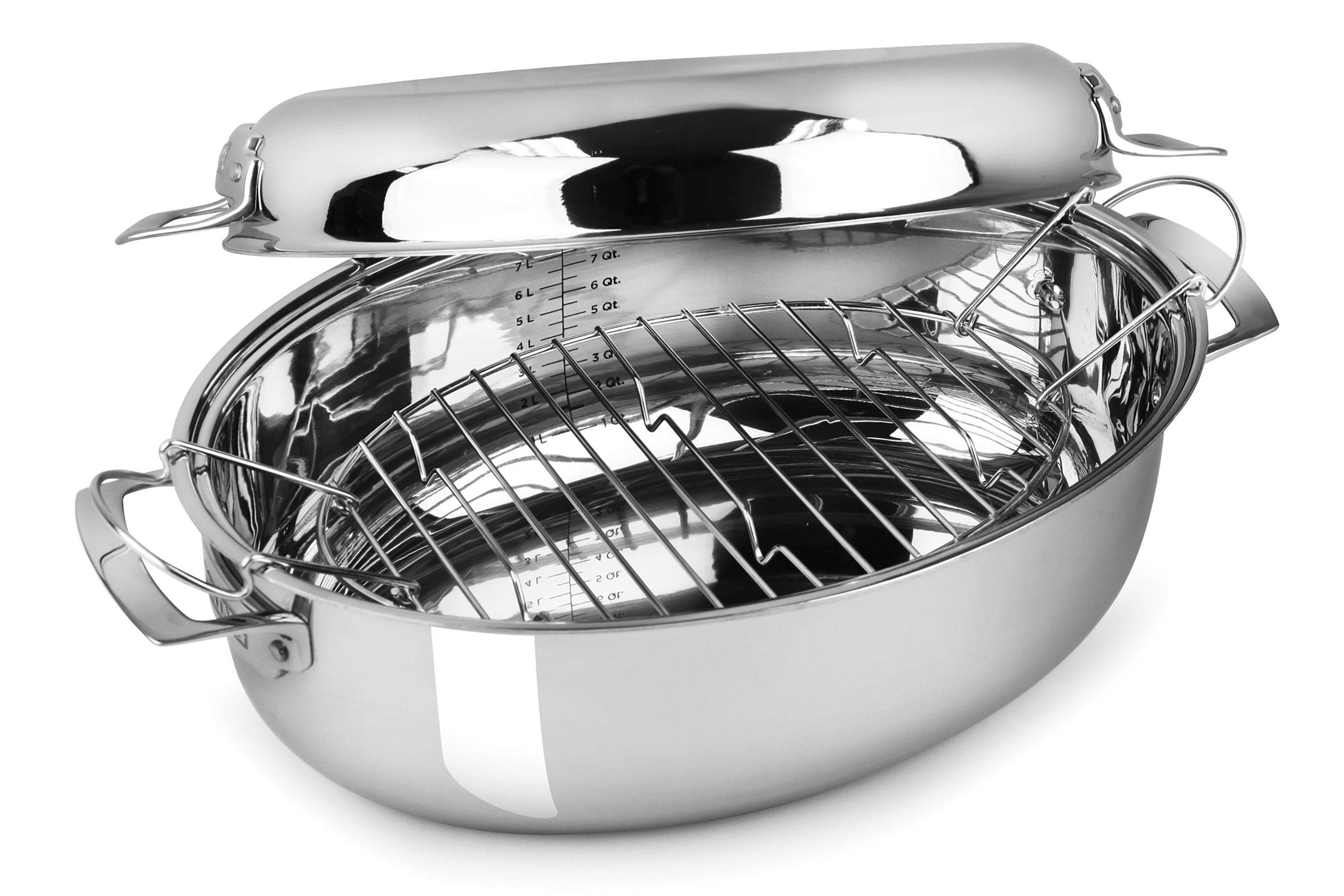 w handles all the rack nonstick roasting house product through