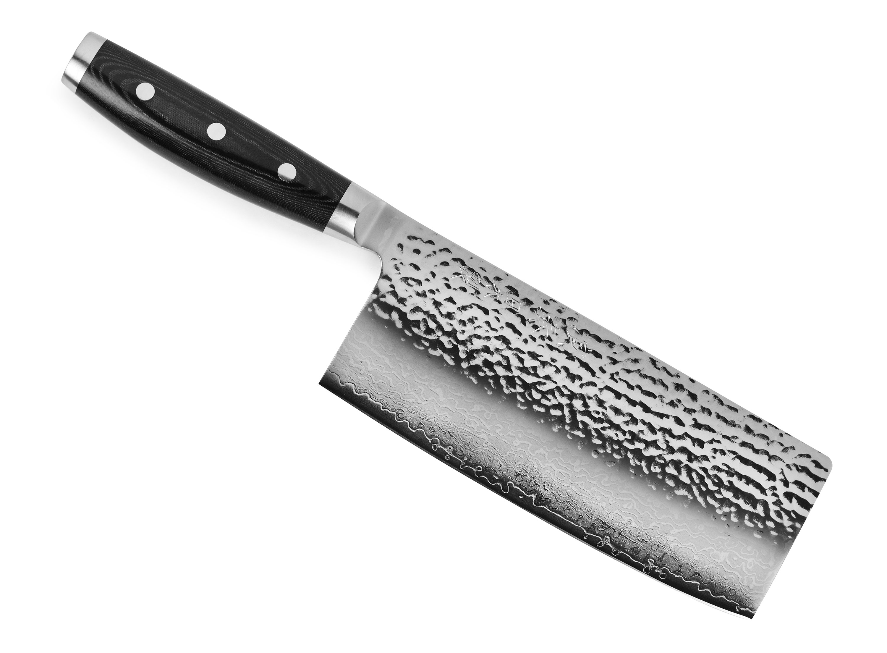 Merveilleux Enso HD Vegetable Cleaver Chinese Chefu0027s Knife Hammered Damascus | Cutlery  And More
