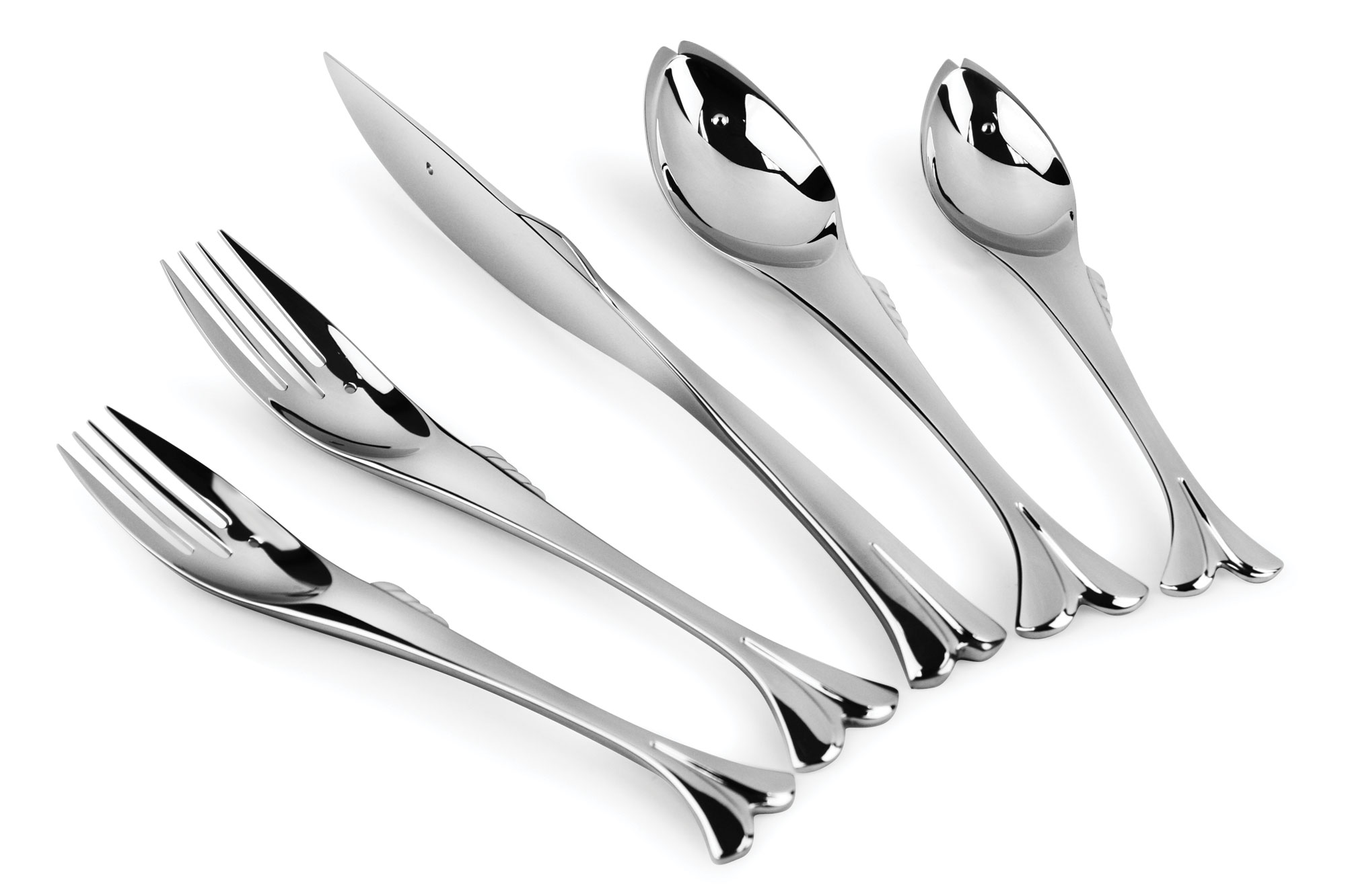 Yamazaki Gone Fishin Stainless Steel Flatware Set 20