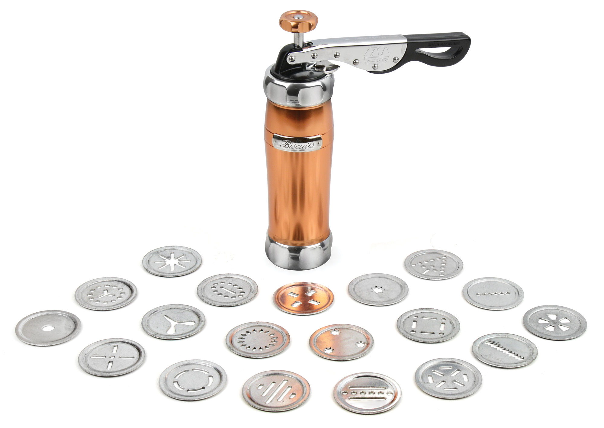 Marcato Biscuit Cookie Press Copper Cutlery And More