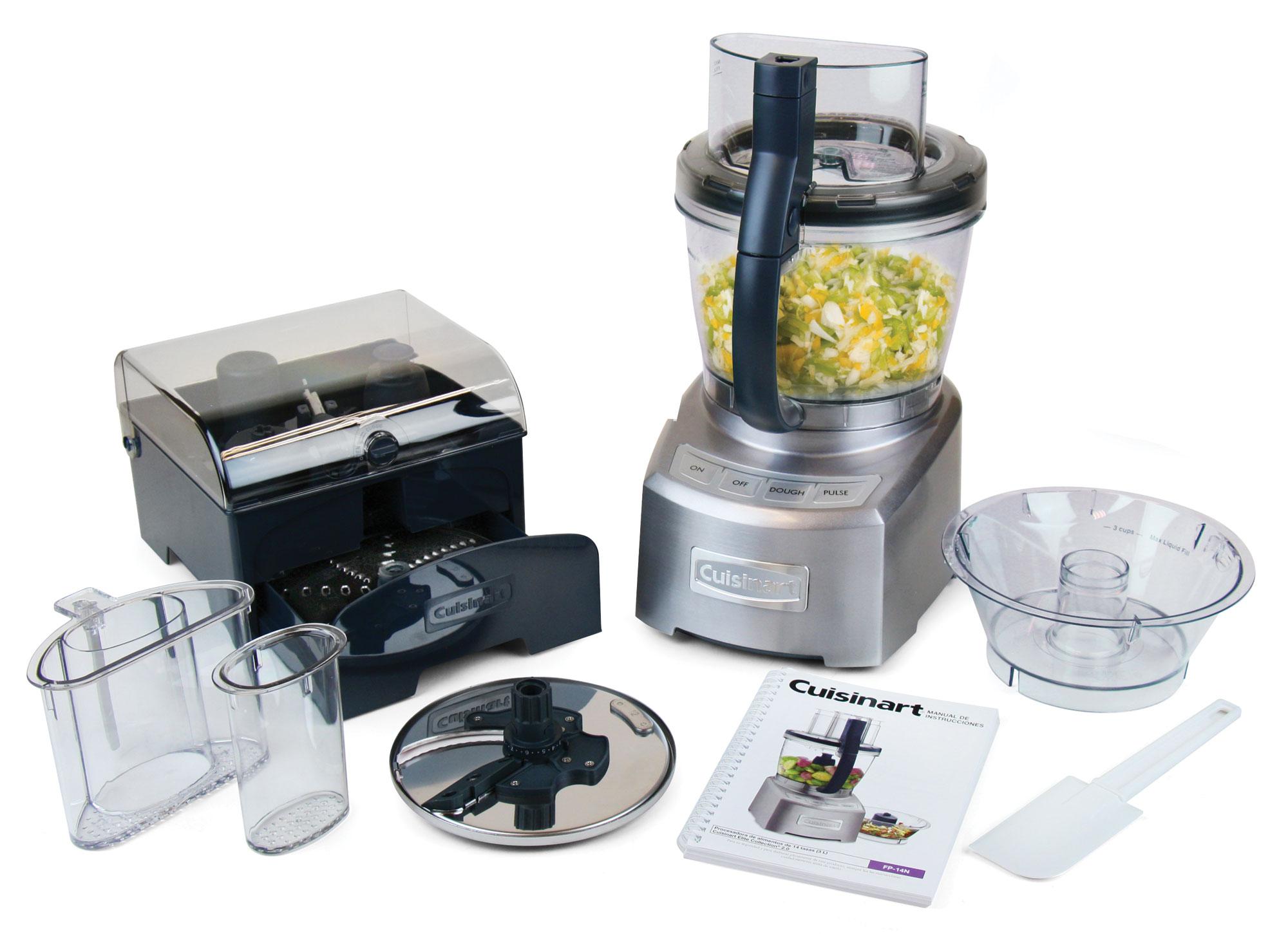 Cuisinart Elite Die Cast Food Processor 14 Cup Cutlery