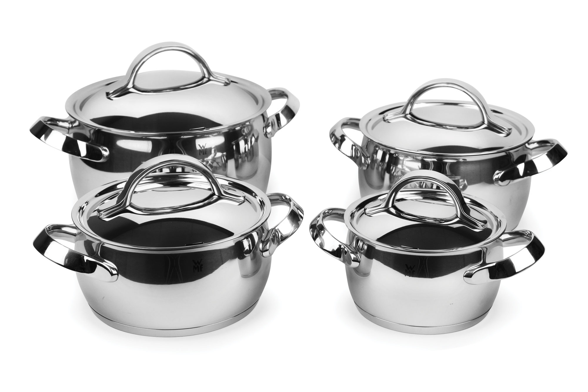 Wmf Concento Stainless Steel Cookware Set 8 Piece