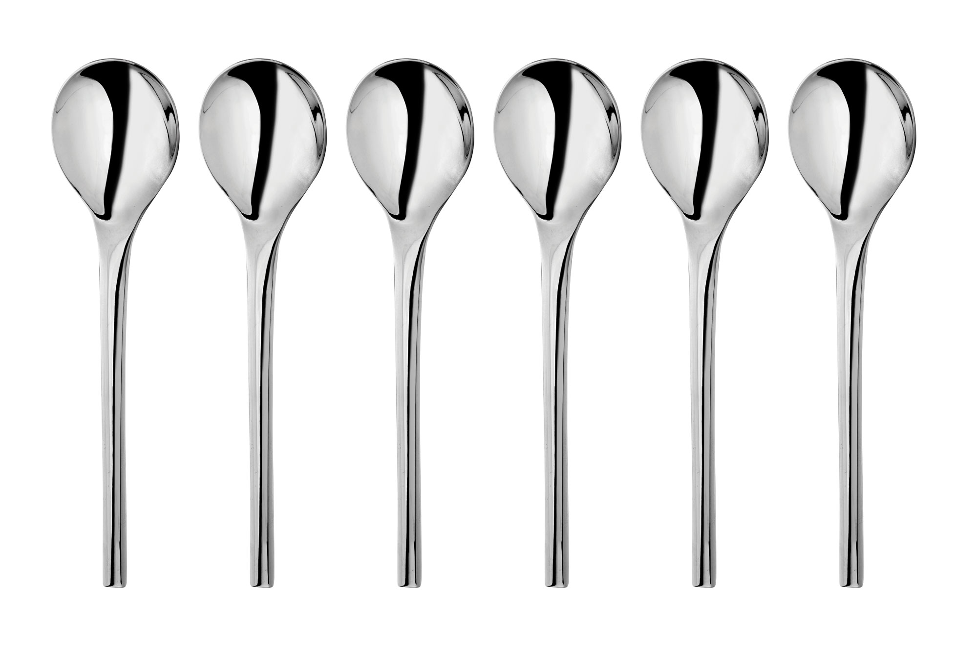 Wmf Nordic Stainless Steel Soup Spoon Set 6 Piece