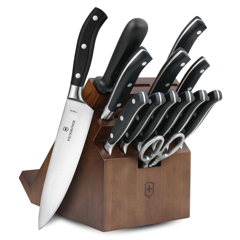 Victorinox Forged Professional Swivel Knife Block Set 14