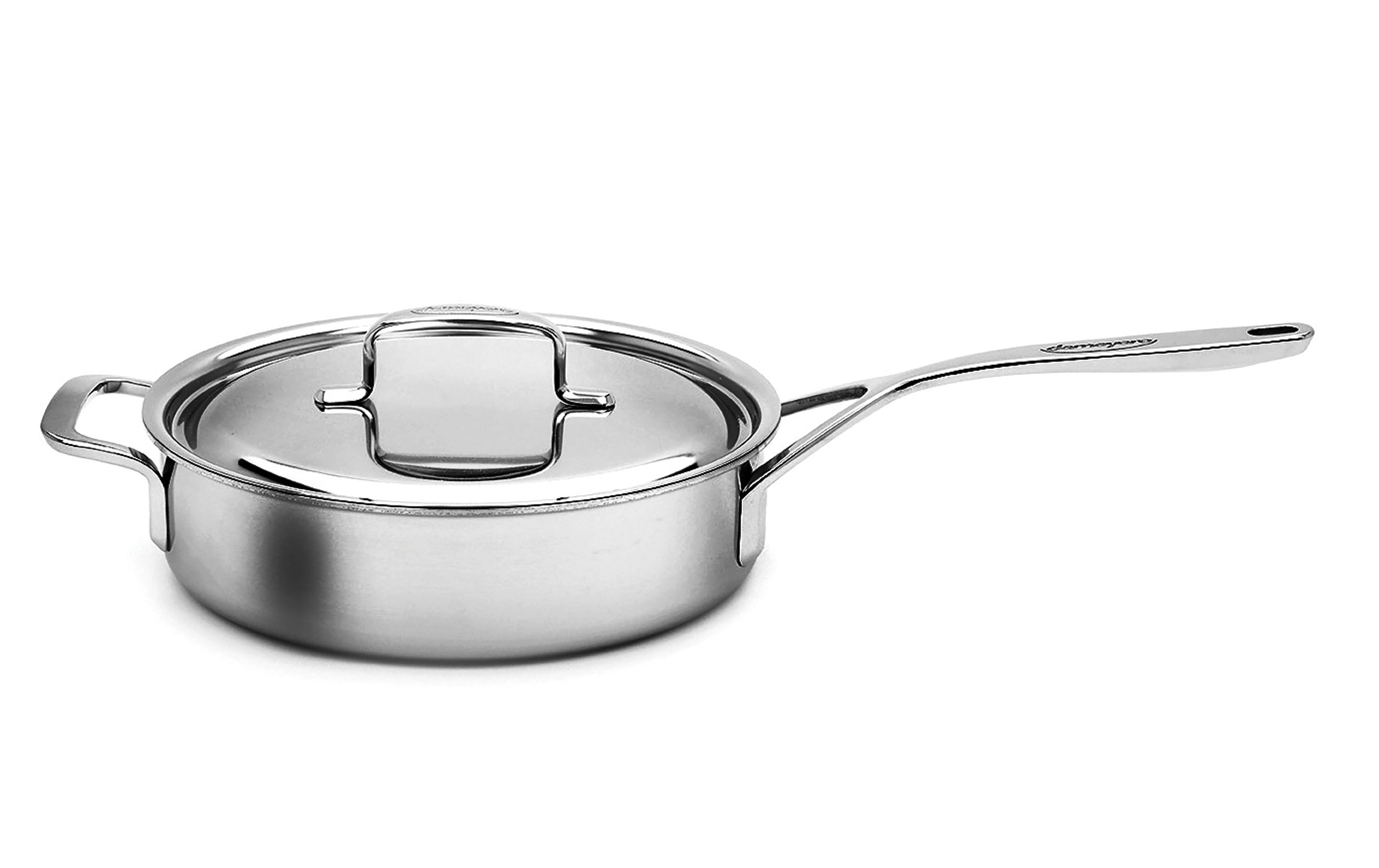 Demeyere 5 Plus Stainless Steel Saute Pan 6 5 Quart