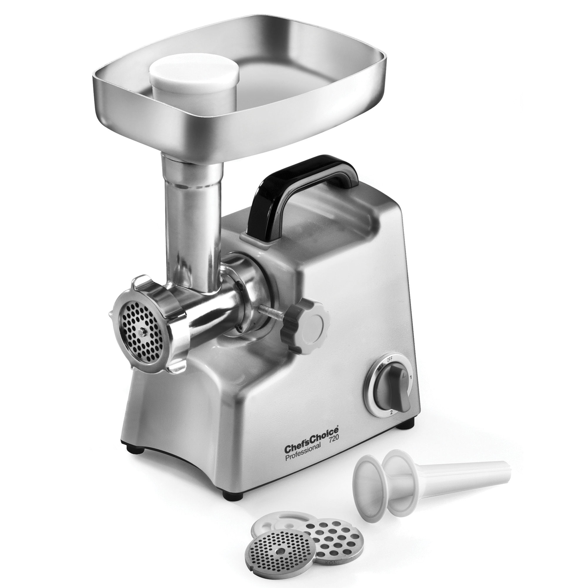 Small Electric Meat Grinder ~ Chef s choice model professional electric meat grinder