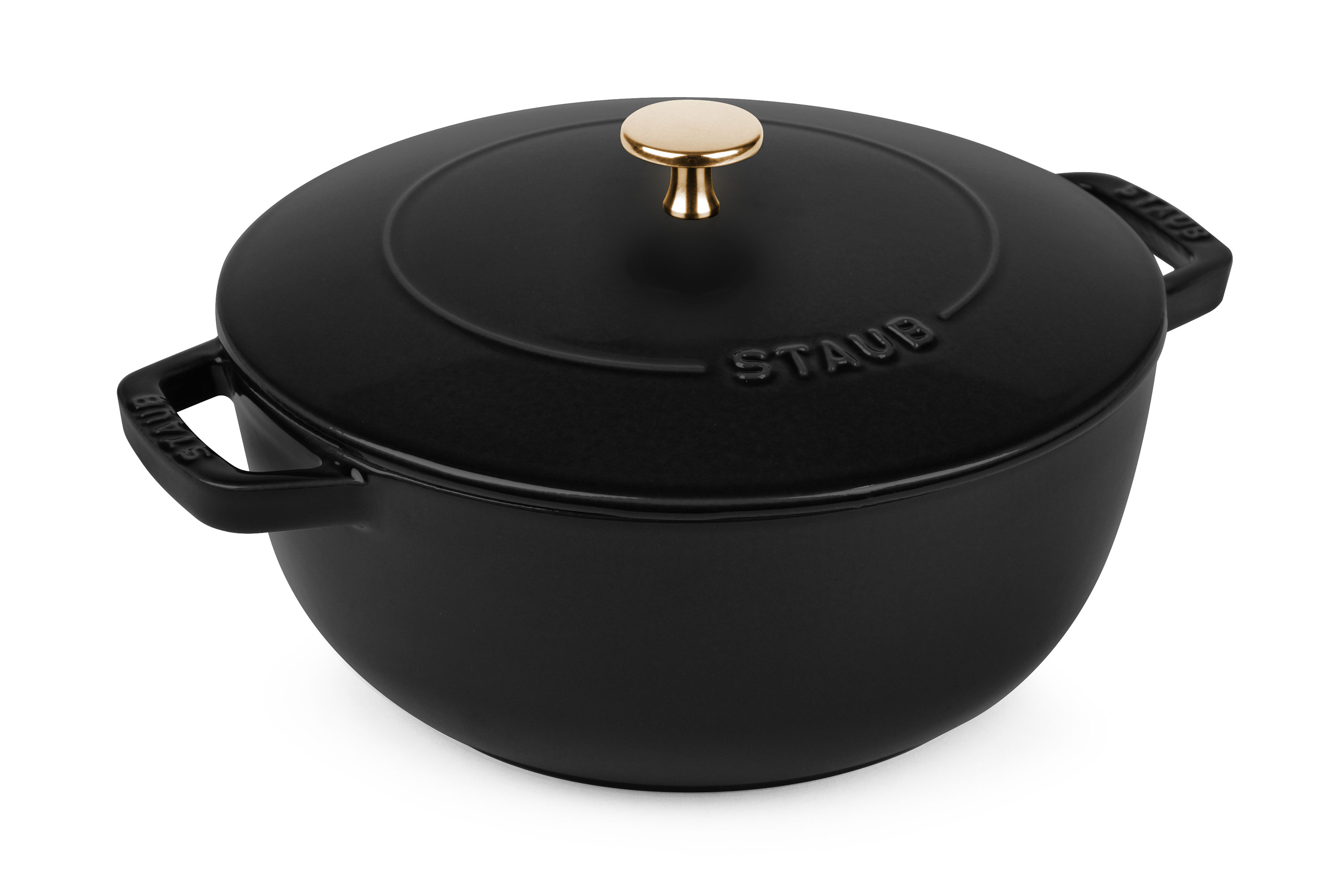 Staub Essential French Oven 3 75 Quart Matte Black