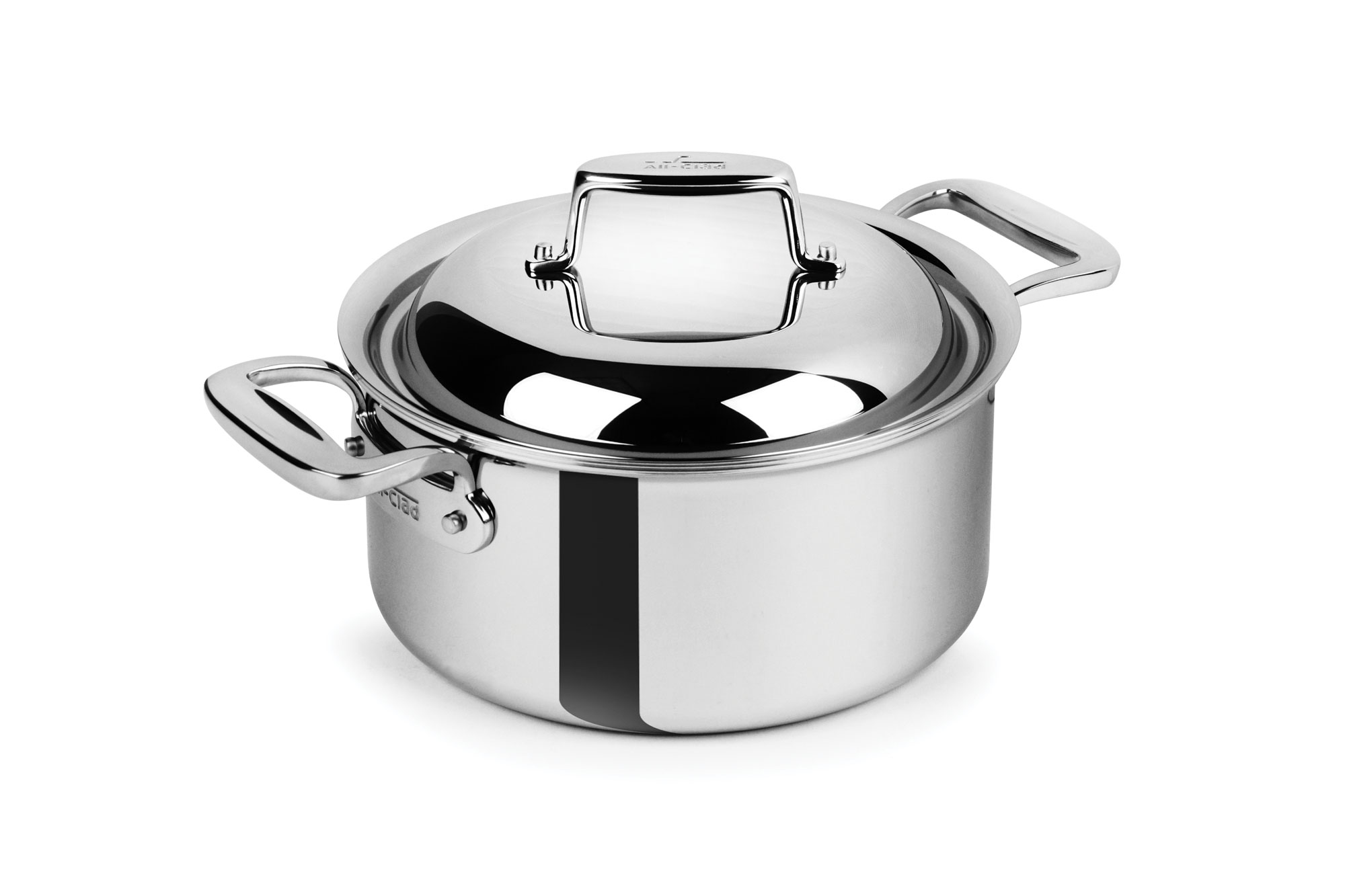 All Clad D7 Stainless Steel Round Dutch Oven 3 5 Quart