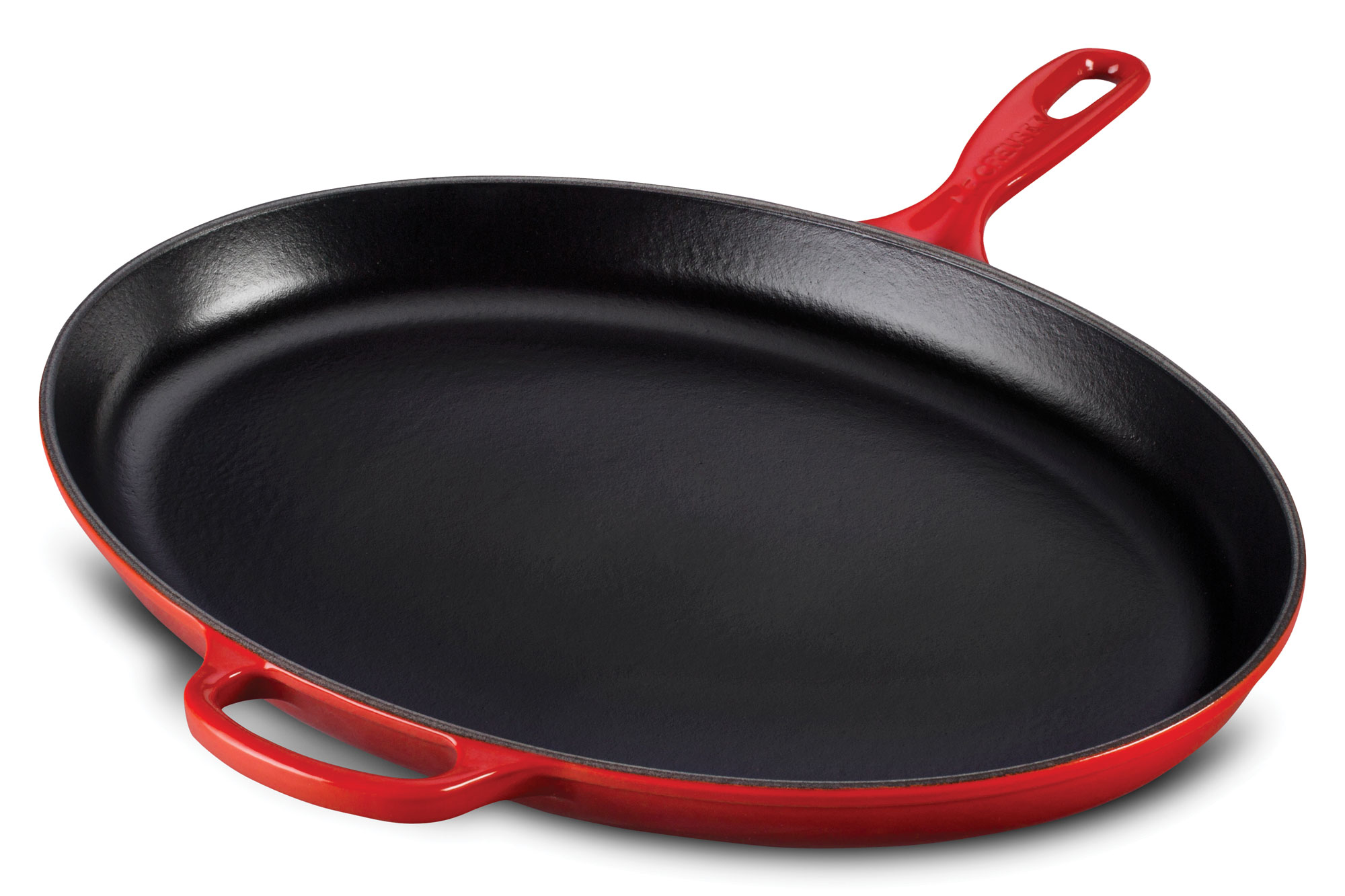 Le Creuset Signature Cast Iron Iron Handle Oval Skillet