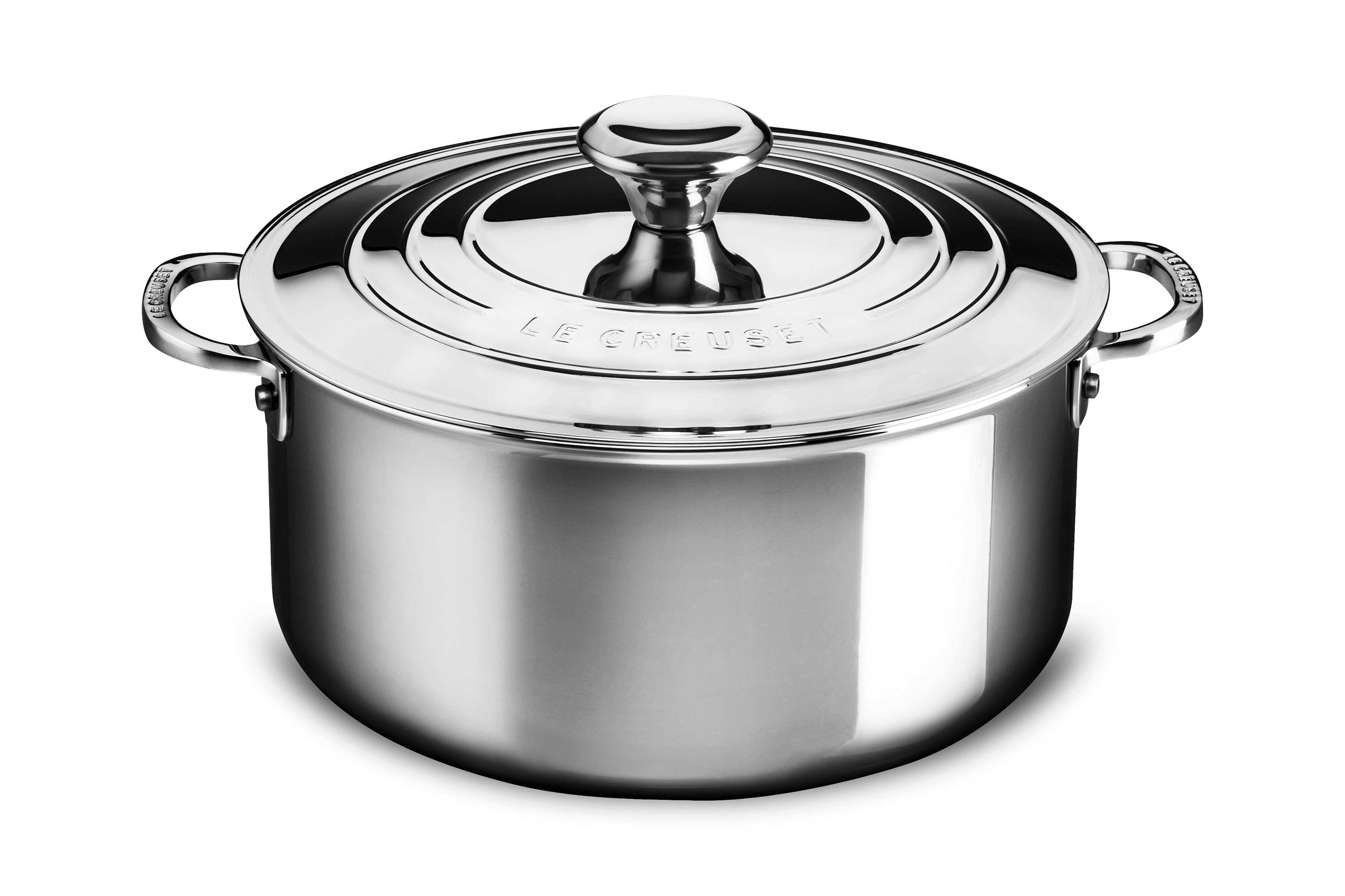 Le Creuset Stainless Steel Dutch Oven, 5.5-quart | Cutlery ...