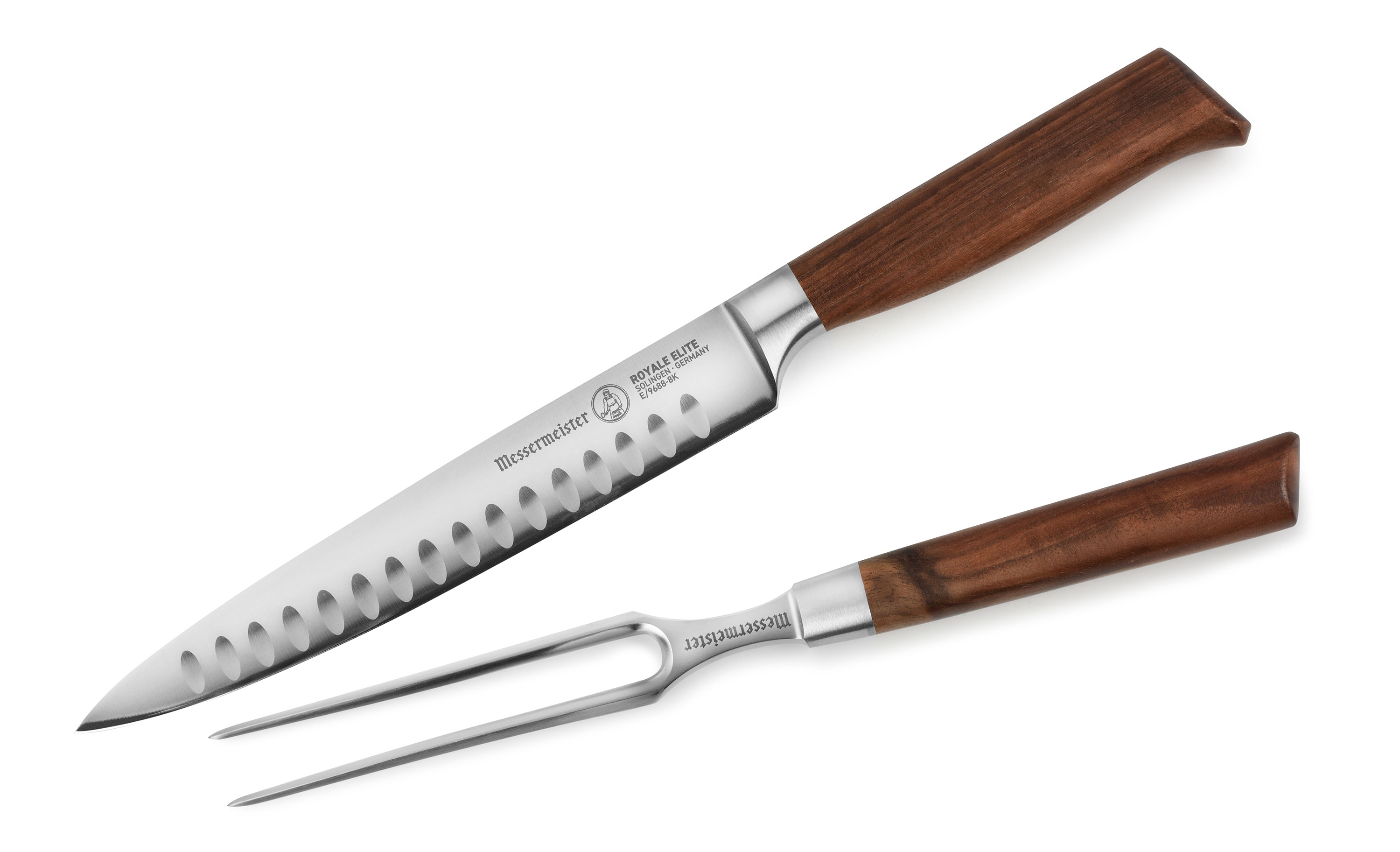 Messermeister Royale Elite Hollow Edge Carving Set 2