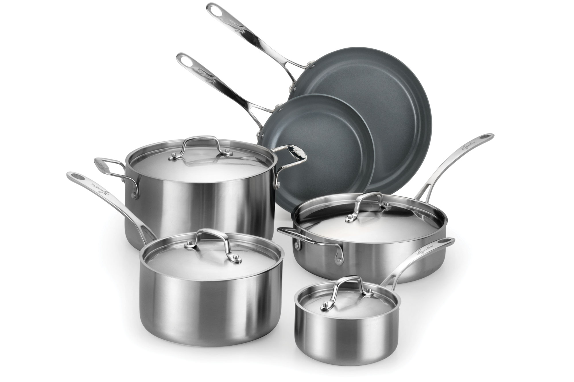 Lagostina Axia Tri Ply Ceramic Nonstick Stainless Steel