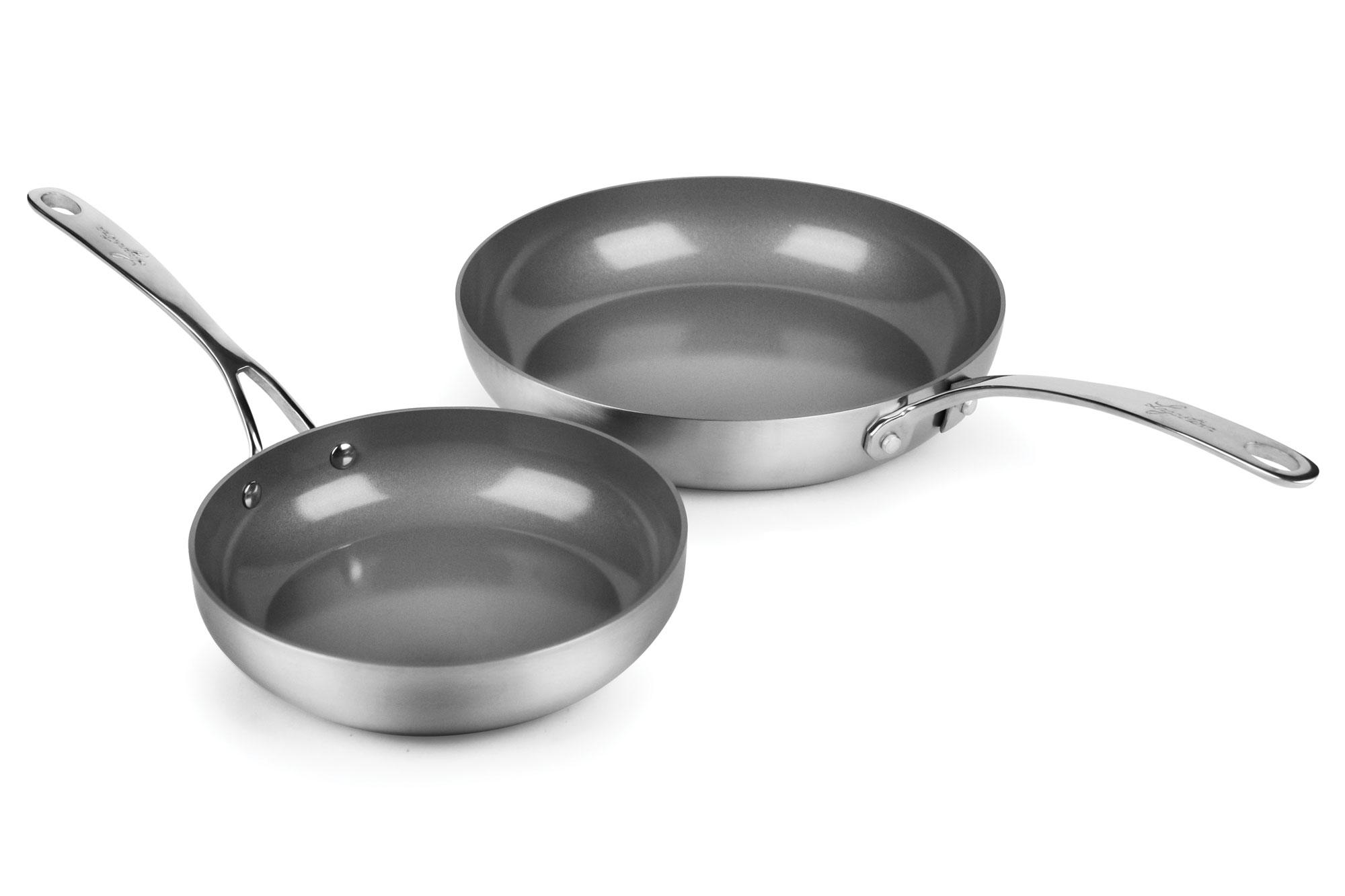 Lagostina Axia Tri Ply Stainless Steel Ceramic Nonstick 8