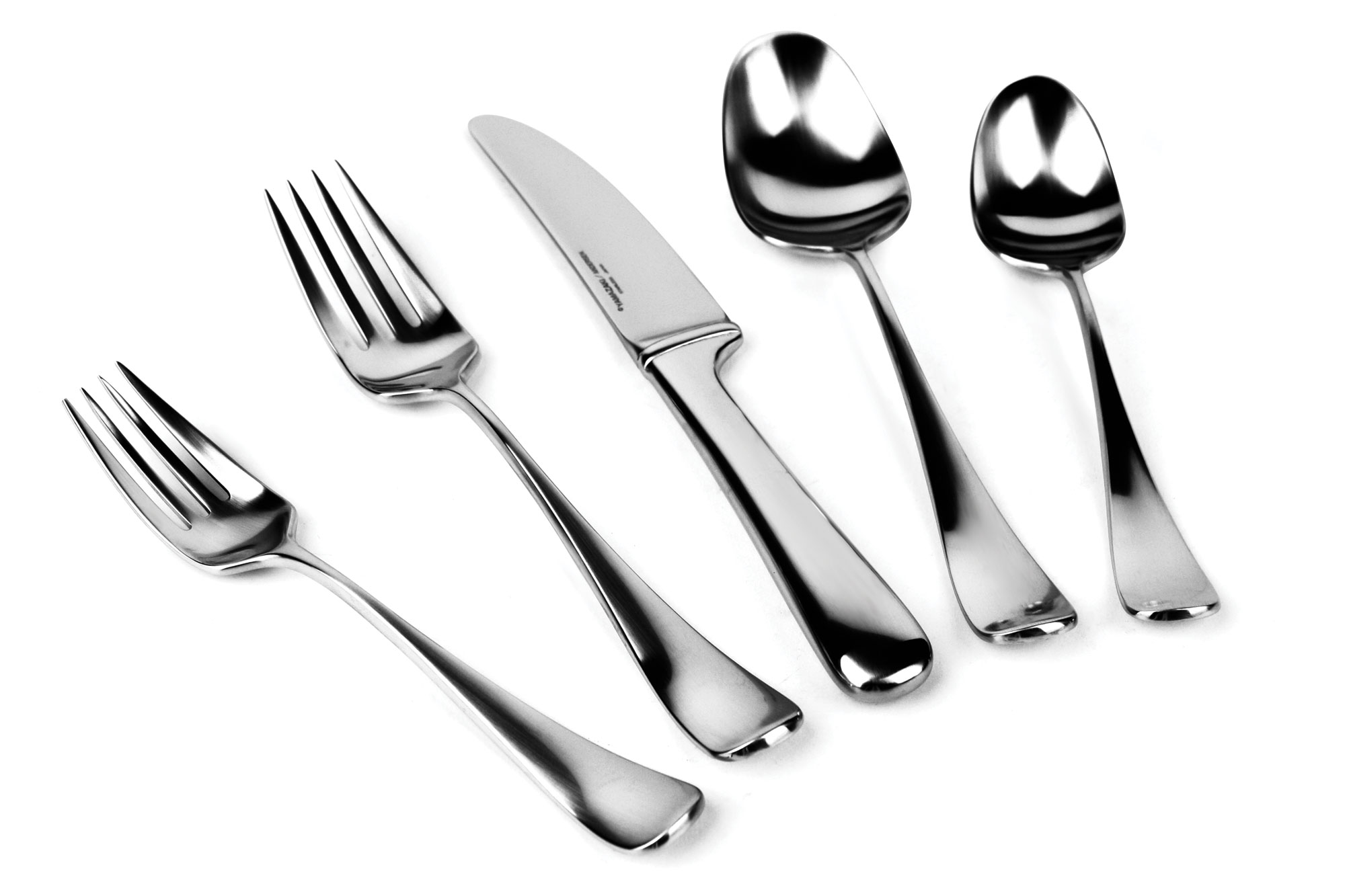 20-piece  sc 1 st  Cutlery and More & Yamazaki Hafnia Stainless Steel Flatware Set 20-piece | Cutlery and ...