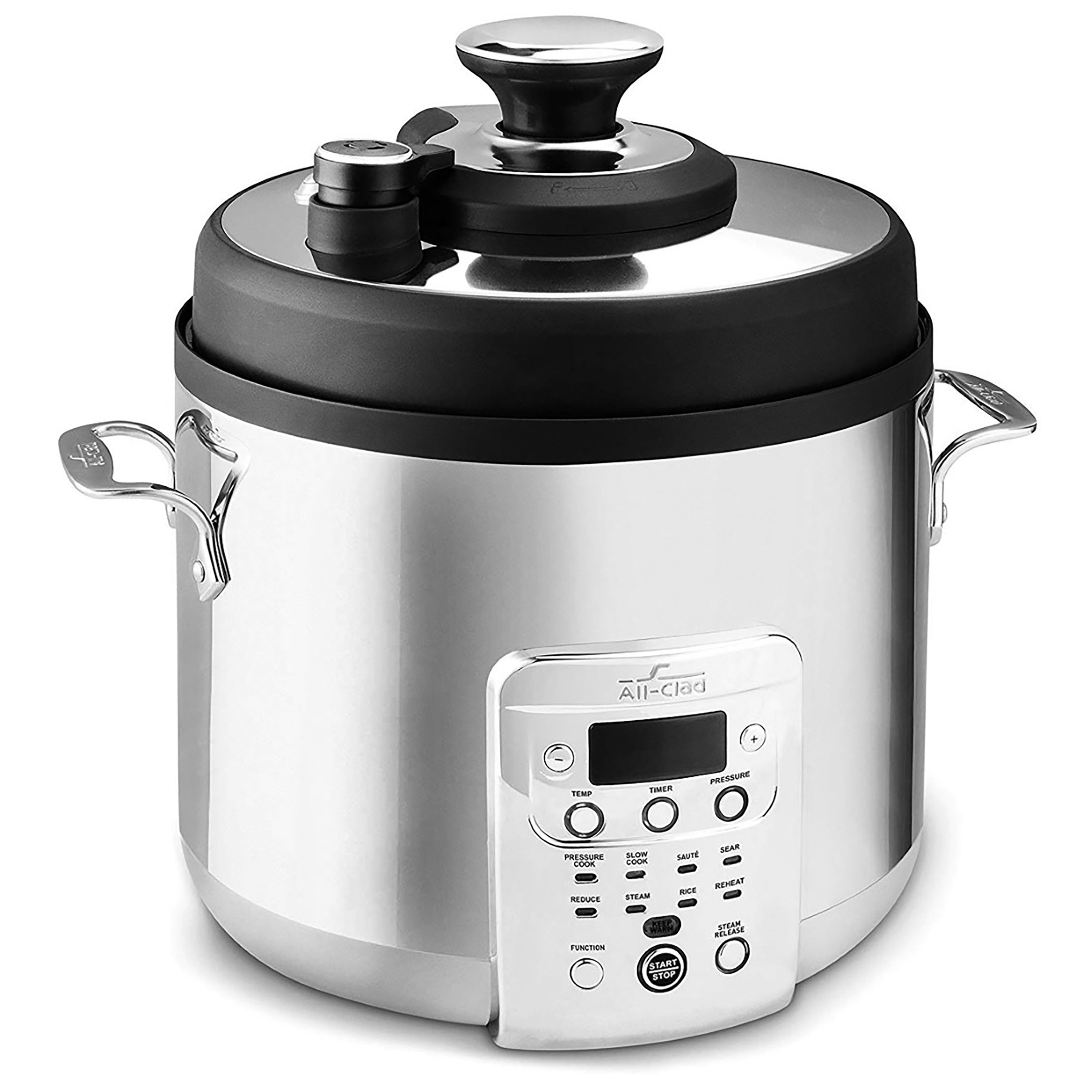 All Clad Electric Stainless Steel Pressure Cooker 6 Quart