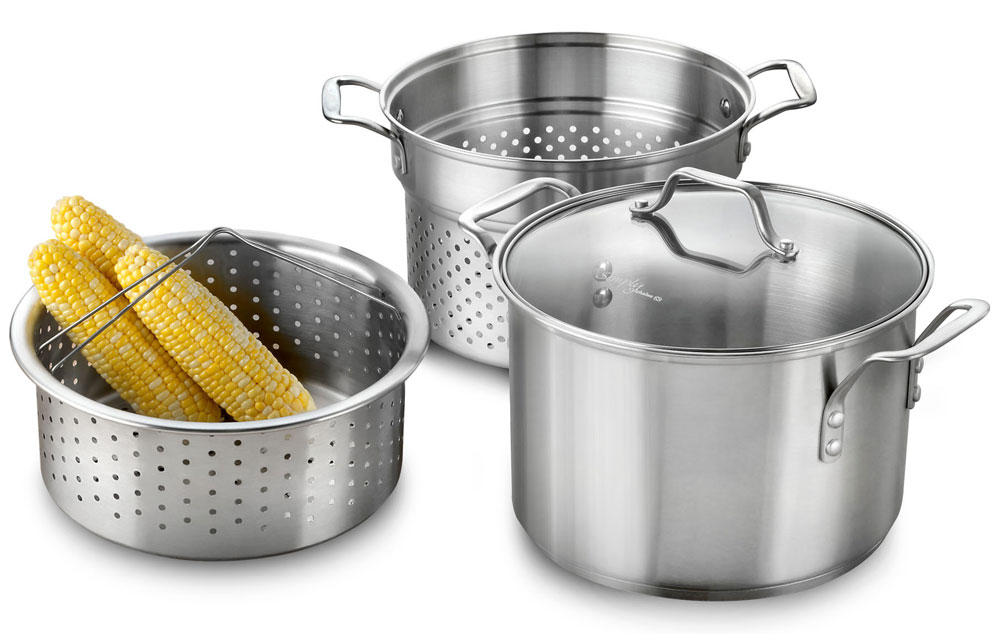 Calphalon Stainless Steel Multi Function Stock Pot 8