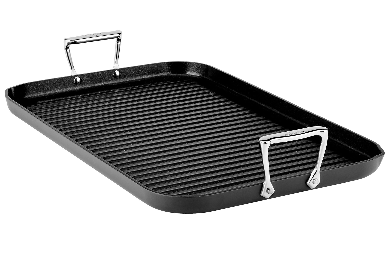All Clad Ha1 Nonstick Grande Grill Pan 20x13 Quot Cutlery