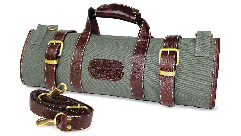 7941f2118ffb Boldric 17 Pocket Green Canvas Knife Bag