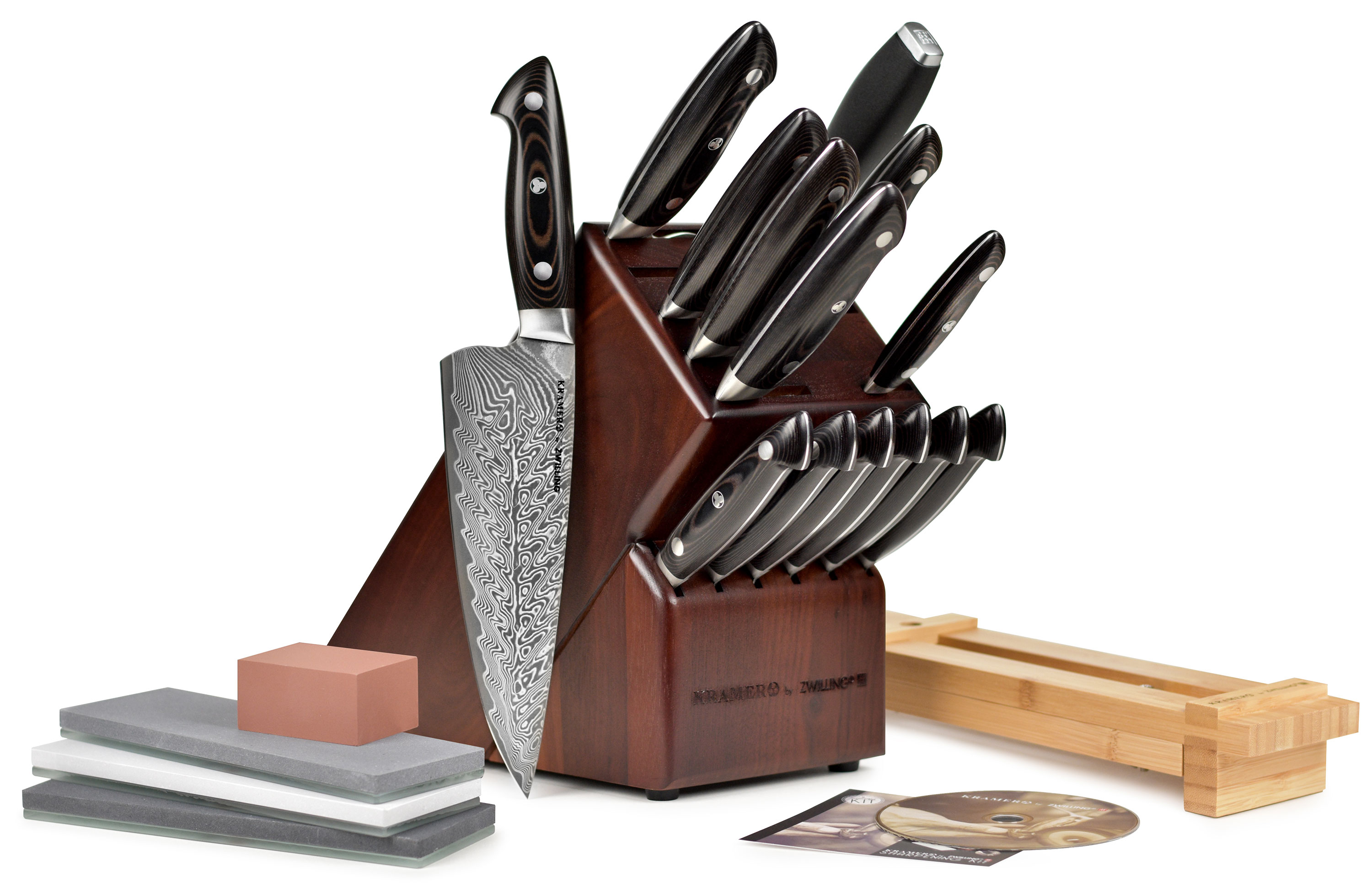 Bob Kramer Ultimate Knife Set Damascus Knives With