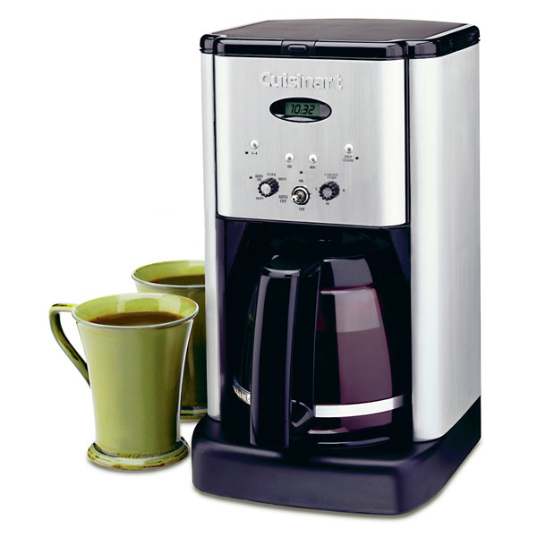 Cuisinart Brew Central Coffee Maker, 12-cup Brushed ...