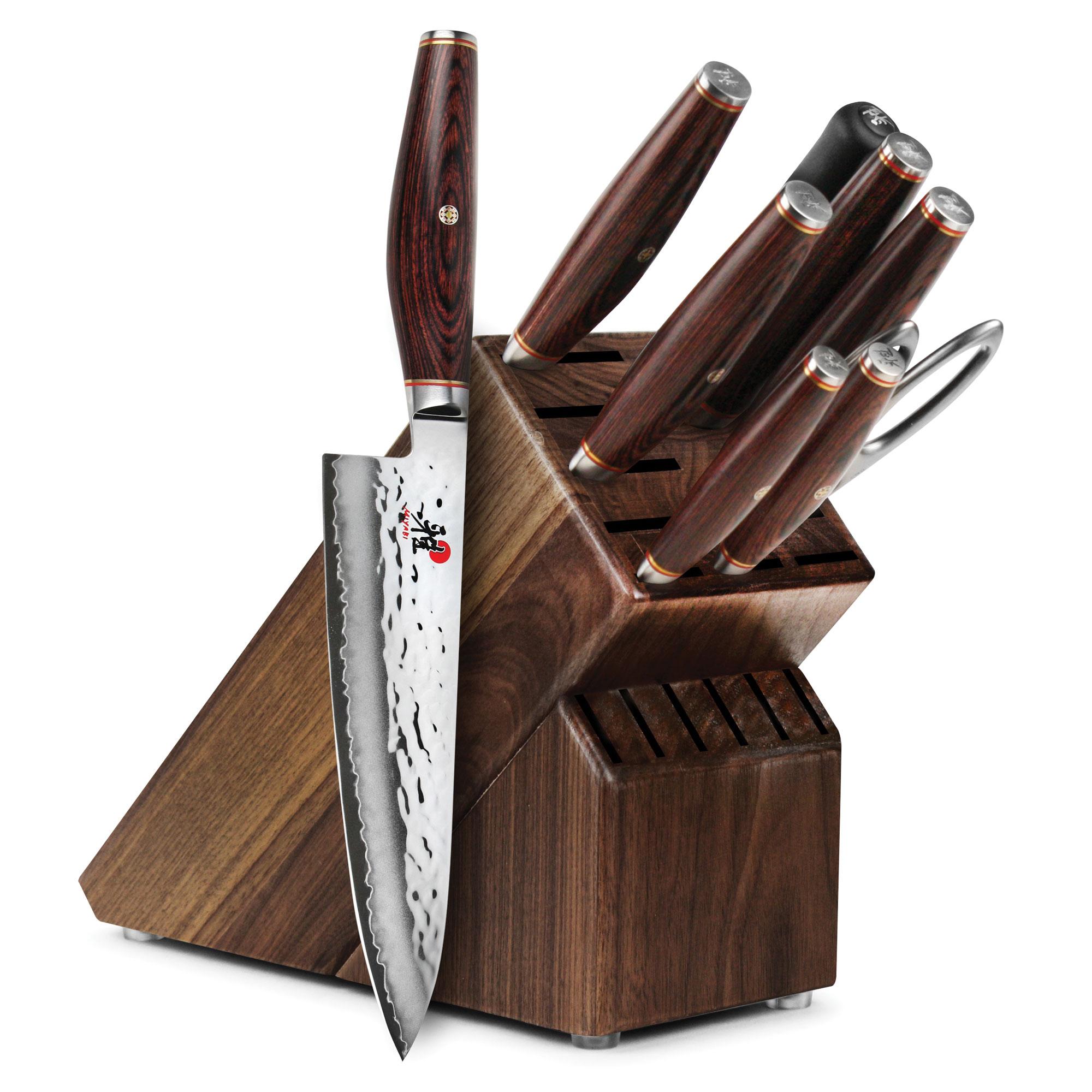 Miyabi Artisan Knife Block Set 10 Piece Japanese Sg2
